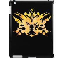 Pikachu Rorschach test iPad Case/Skin