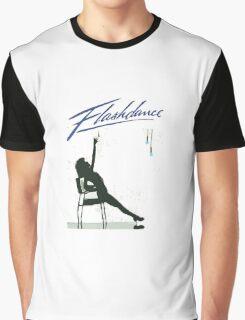 Iconic Scene in Flashdance Graphic T-Shirt