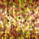 Autumn Colours Harlequin Abstract Pattern  by Ra12