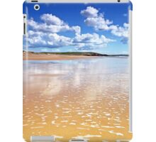Gold & Clouds - Freshwater West, Pembrokeshire iPad Case/Skin