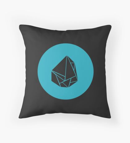 Breaking Bad Meth icon Throw Pillow