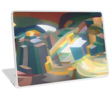 Twisting City Laptop Skin