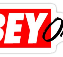 OH BE Sticker