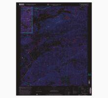 USGS TOPO Map Alabama AL Ross Mountain 304982 2001 24000 Inverted Kids Tee