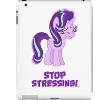 Starlight Glimmer - Stop Stressing! iPad Case/Skin