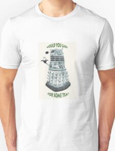 Dalek Would You Care For Some Tea? T-Shirt