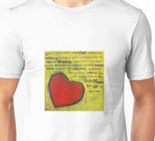 Love is Made in NZ Unisex T-Shirt