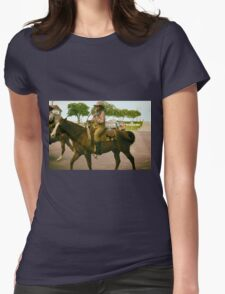 Cattle Drive 12 Womens Fitted T-Shirt