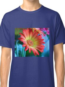 red on blue Classic T-Shirt