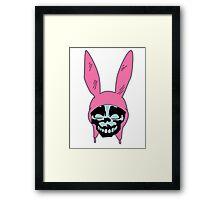 Louise Belcher: Skull Blue Cavity (version one) Framed Print