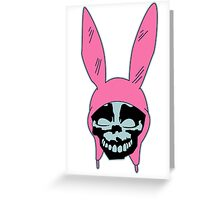 Top Seller - Louise Belcher: Skull Blue Cavity (version one) Greeting Card