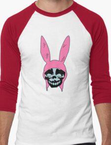 Louise Belcher: Skull Blue Cavity (version one) Men's Baseball ¾ T-Shirt