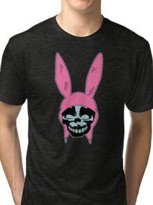 Top Seller - Louise Belcher: Skull Blue Cavity (version one) Tri-blend T-Shirt