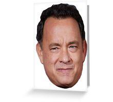 Tom Hanks Greeting Card