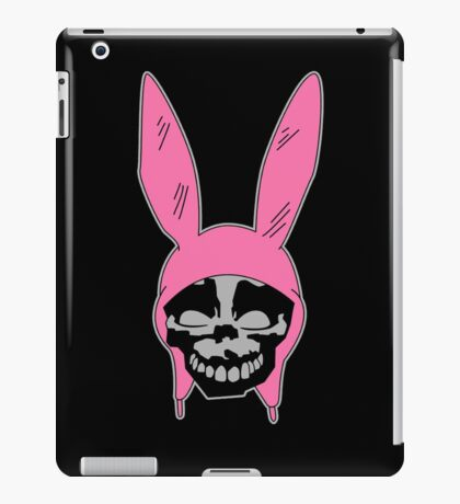 Louise Belcher: Skull Black Cavity (version two) iPad Case/Skin
