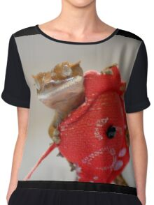Inca and the Red Dragon Chiffon Top