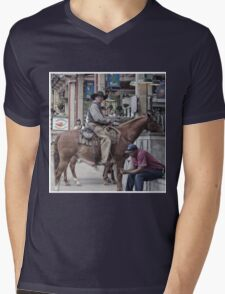 Cattle Drive 15 Mens V-Neck T-Shirt
