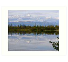 Road to Denali (Near Mt. McKinley, Alaska) Art Print