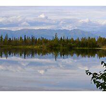 Road to Denali (Near Mt. McKinley, Alaska) Photographic Print