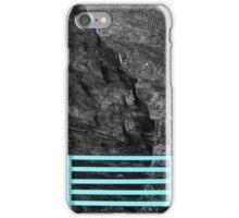 Bench Back, Rock Face iPhone Case/Skin