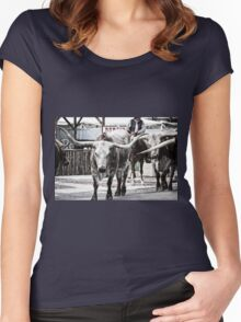 Cattle Drive 16 Women's Fitted Scoop T-Shirt