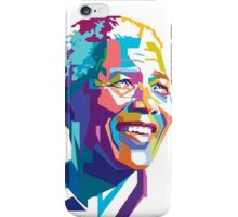 NELSON MANDELA COLORFULL  iPhone Case/Skin
