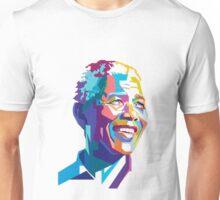 NELSON MANDELA COLORFULL  Unisex T-Shirt