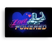 Love Powered Canvas Print