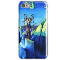 Witch of the Blue Rocks iPhone Case/Skin