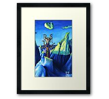 Witch of the Blue Rocks Framed Print