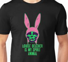 Louise Belcher: Skull Gold Tooth & Spirit Animal (version six) Unisex T-Shirt