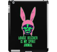Louise Belcher: Skull Gold Tooth & Spirit Animal (version six) iPad Case/Skin