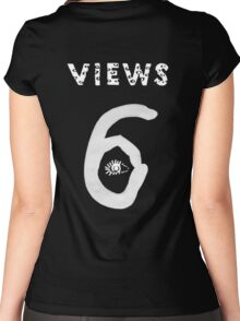 Views Drake Jersey Women's Fitted Scoop T-Shirt