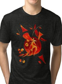 Cherries Auburn Tri-blend T-Shirt