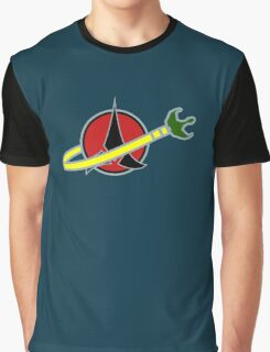 Lego Space Klingon Bird Of Prey Graphic T-Shirt