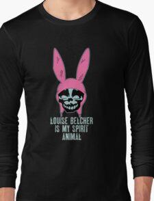 Louise Belcher: Skull Spirit Animal (version seven) Long Sleeve T-Shirt