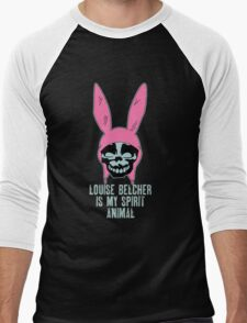 Louise Belcher: Skull Spirit Animal (version seven) Men's Baseball ¾ T-Shirt
