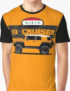 IRAQI FJ CRUISER  Graphic T-Shirt