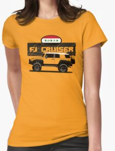 IRAQI FJ CRUISER  Womens Fitted T-Shirt