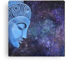 Spiritual  Blue Buddha  Canvas Print