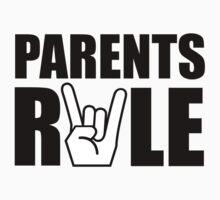 Parents Rule Kids Tee