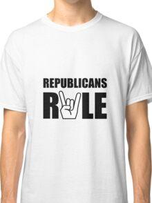 Republicans Rule Classic T-Shirt