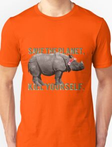 Save the Planet, Kill Yourself T-Shirt