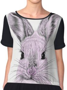 What's Funny Bunny? Chiffon Top