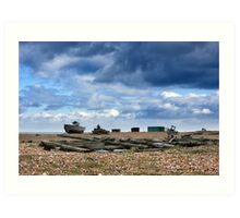 Dungeness Through a Prime Lens 15 Art Print