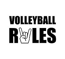 Volleyball Rules Photographic Print