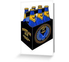 Romulan Ale Six Pack Greeting Card