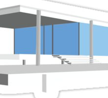 Farnsworth House - Ludwig Mies van der Rohe (1951) Sticker