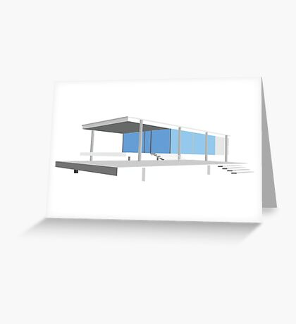 Farnsworth House - Ludwig Mies van der Rohe (1951) Greeting Card