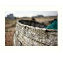 Dungeness Through a Prime Lens 13 Art Print